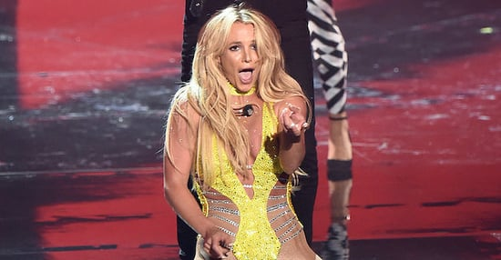 Britney Spears Performed At The VMAs And Can Someone Get Me Some Water