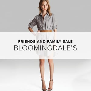 Bloomingdale's Friends and Family Sale 2014 | Shopping