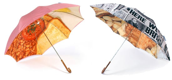 English Breakfast and Fish'n'Chips Umbrella