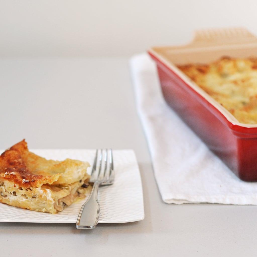 Vegetarian Mushroom Lasagna