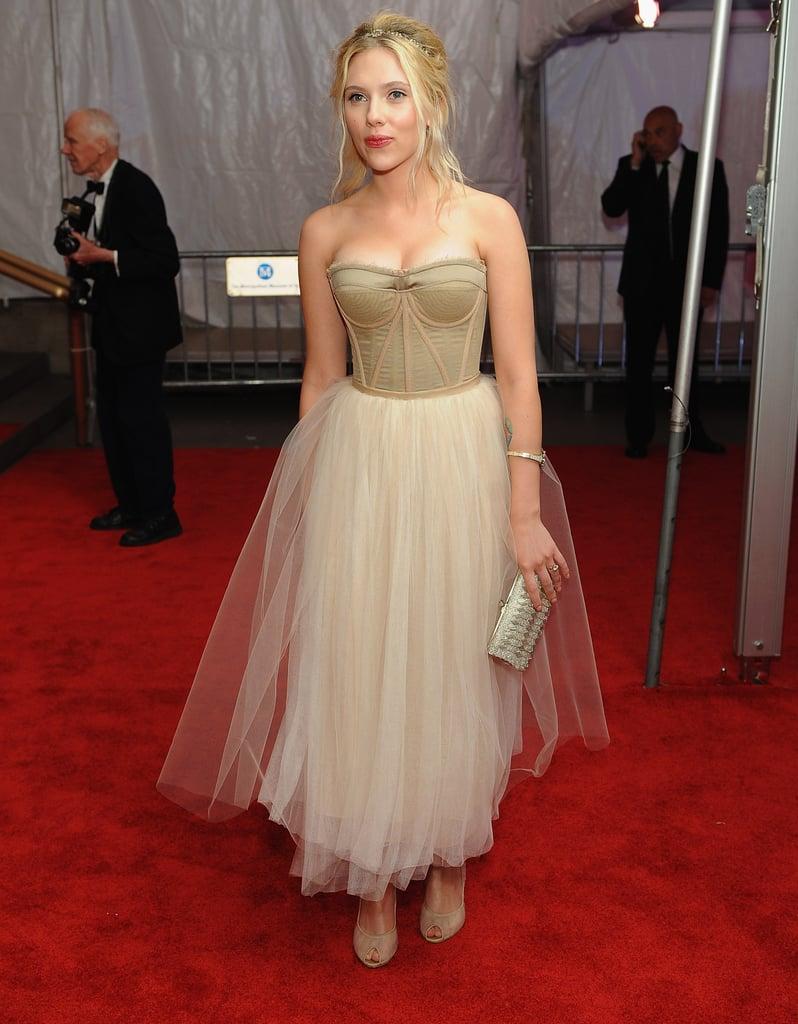 Scarlett Johansson at the Met Ball, 2008
