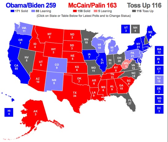 McCain Swings Out of Michigan: How Does the Map Look?