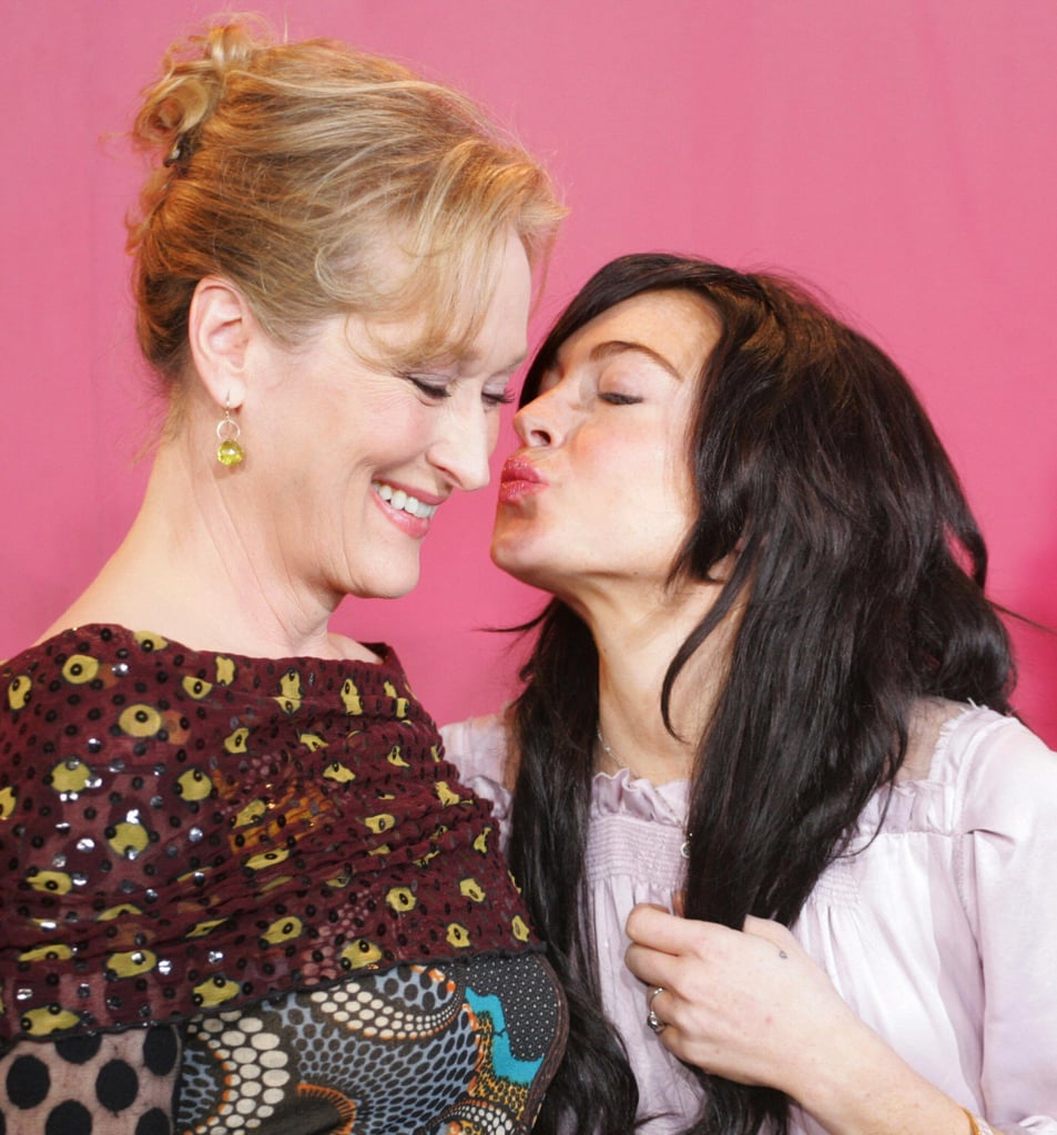 Meryl Streep bonded with Lindsay after Prairie Home Companion, and we saw a teen who just wanted love.