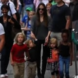 Angelina Jolie and Her Kids at the London Aquarium