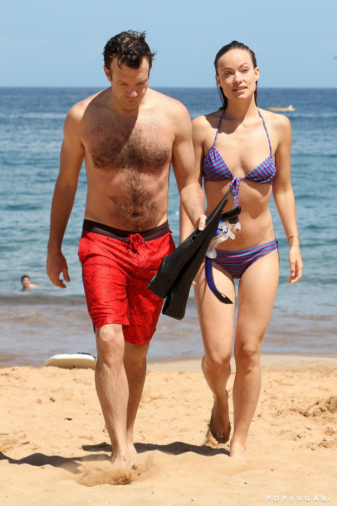 Jason Sudeikis and Olivia Wilde got away to Hawaii together in May.