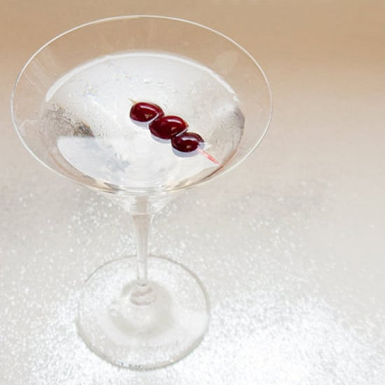 Cranberry-Infused Vermouth Martini