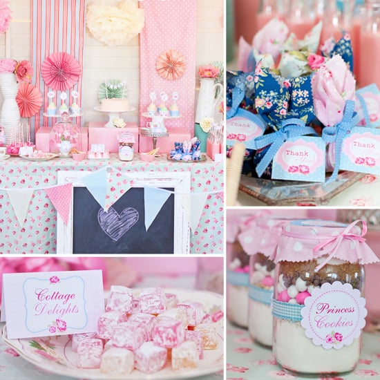 A Shabby-Chic Birthday Party Fit For a Princess