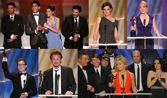 SAG Awards Let Actors Like Tina, Kate & Sean Mingle and Win