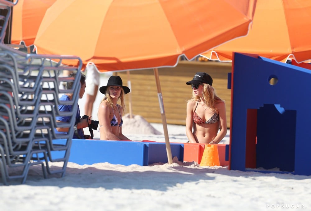 Doutzen and Her Son Join Candice Swanepoel For Bikini Time on the Beach