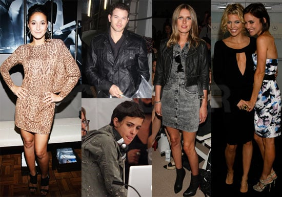 Photos of Samantha Ronoson, Nicky Hilton, Kellan Lutz at New York Fashion Week