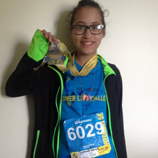 12-Year-Old Girl Runs Half-Marathon on Accident