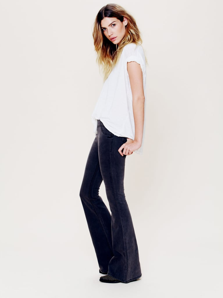 """Free People's FP Pull On Kick Flares ($78) are soft, cozy, and great for those """"I have nothing to wear"""" days."""