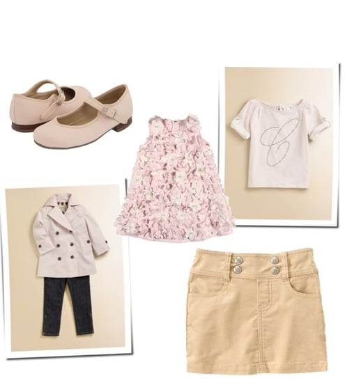 Trendy Blush Tone Clothes For Toddlers and Little Girls