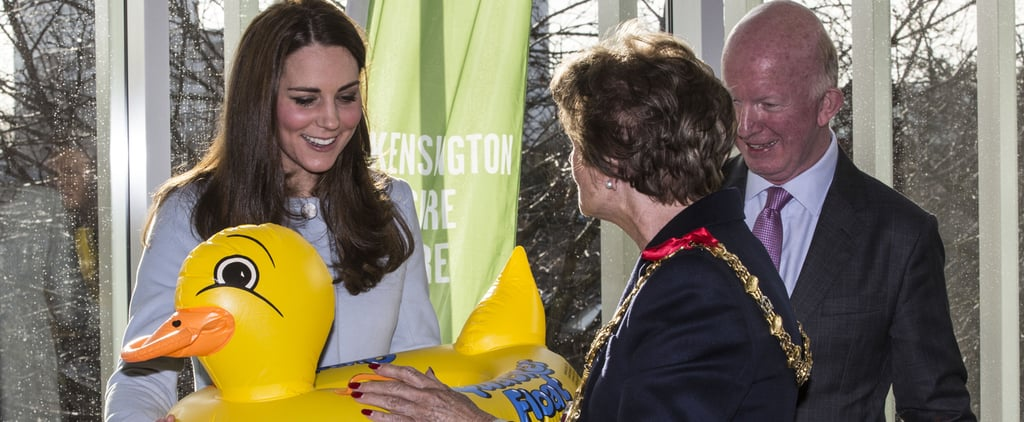 Royal Report: Duchess Kate Works Hard, Then Plays Hard
