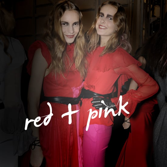 Red and Pink Colorblock Trend for Summer and Fall 2011