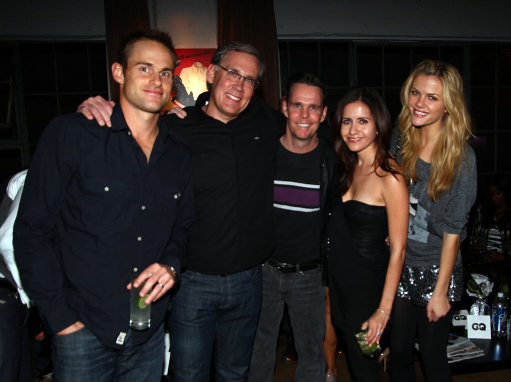 The Super Bowl Parties Get Started With Brooklyn and Andy, Demi and Ashton, JT, and True Blood Hunks!