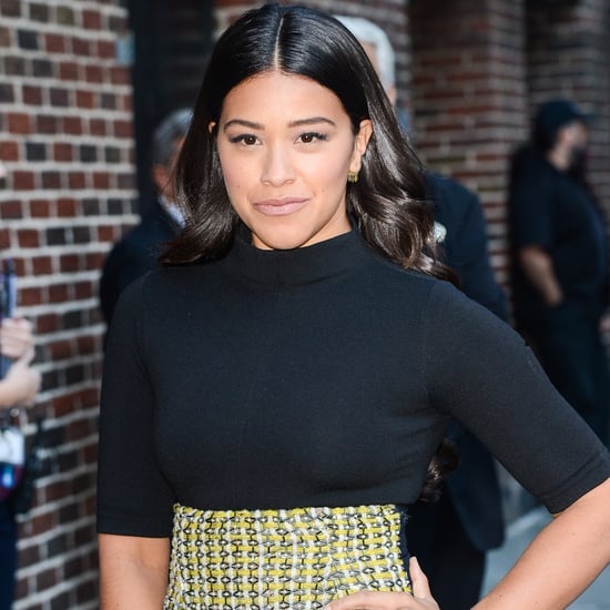 Gina Rodriguez on The Late Show With Stephen Colbert 2015