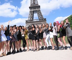 Recap of Australia's Next Top Model Series 7 Episode 2 in Paris With Shopping Challenge and Chateau Photo Shoot