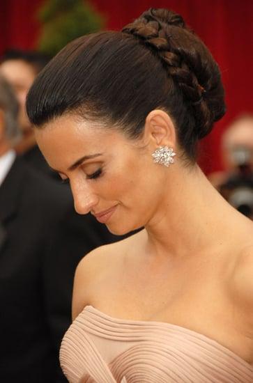 Oscars hair: updo gallery