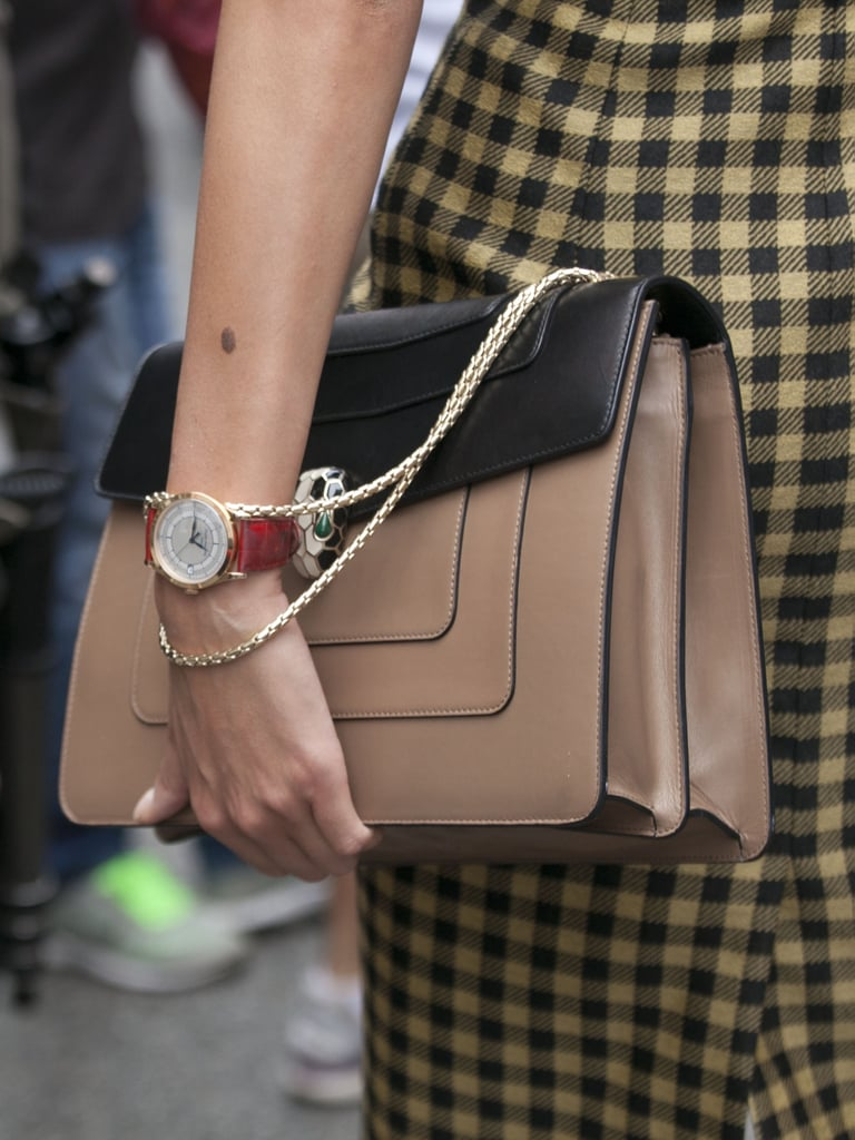 A timeless watch and a timeless handbag teamed up.