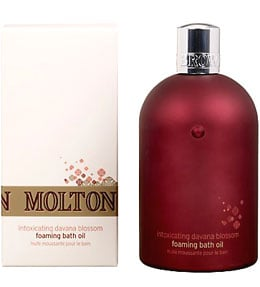 Product Review: Molton Brown Davana Blossom Foaming Bath Oil