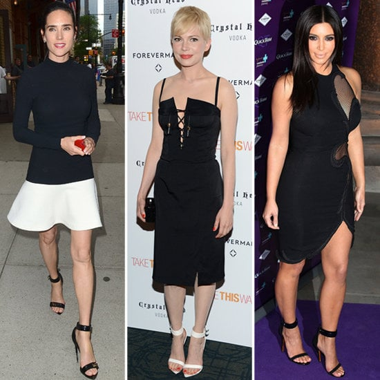 Get in on the ankle-strap shoe craze — the chic footwear we're seeing on our favorite celebs.