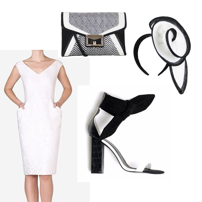 Derby Day: Black and White