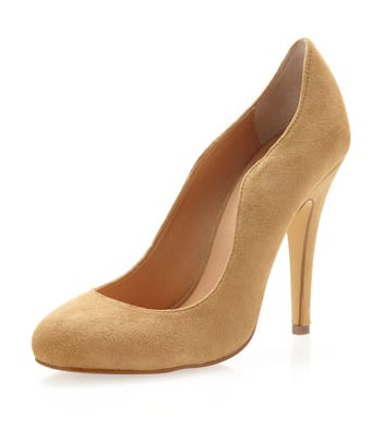 Camel pumps — like these Kelsi Dagger suede camel pumps ($55, originally $99) — are a must-have, and we dig the curved sides on this pair. Proof that small details can make a big difference.