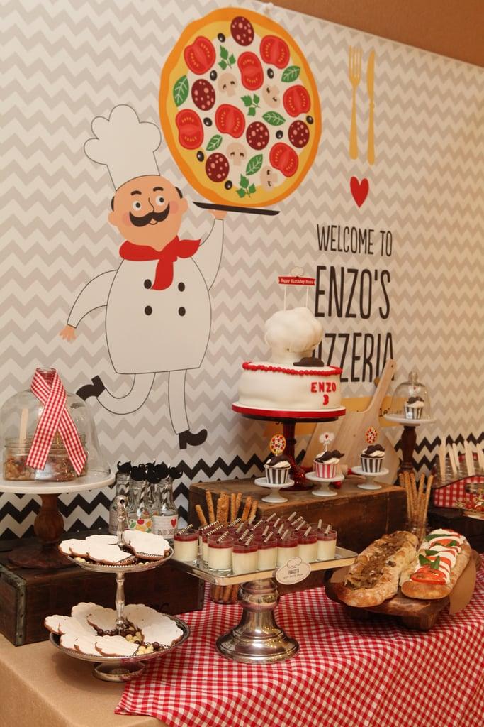 Sweet Pizza-Themed Treats