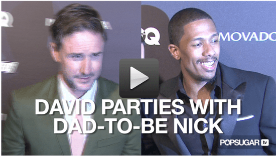 Video of David Arquette at a Party With Nick Cannon in New York