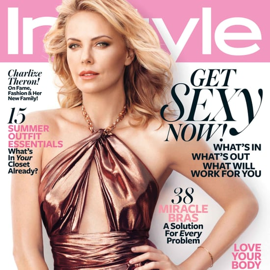 Charlize Theron InStyle Pictures June 2012