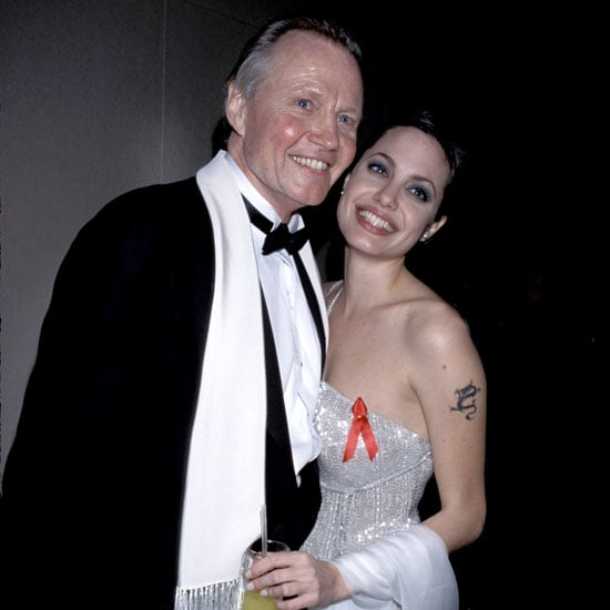 Angelina Jolie had the support of her father, Jon Voight, in 1998.