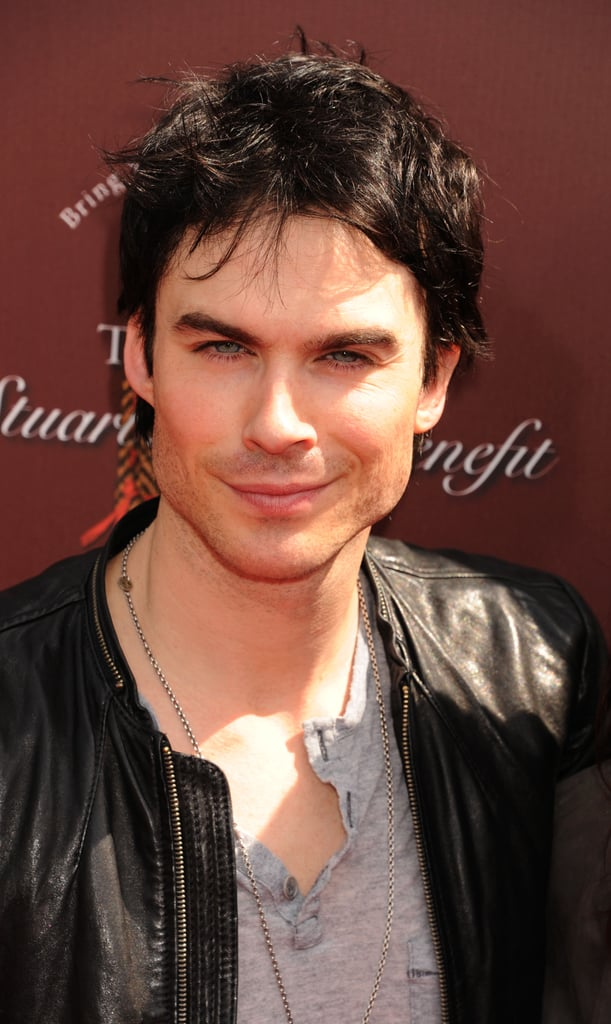 Ian Somerhalder smiled at a LA event.