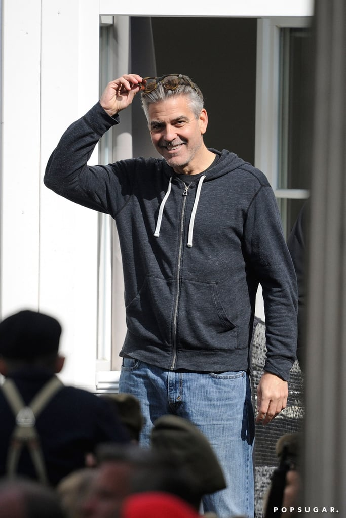 George Clooney filmed The Monuments Men in Goslar, Germany.