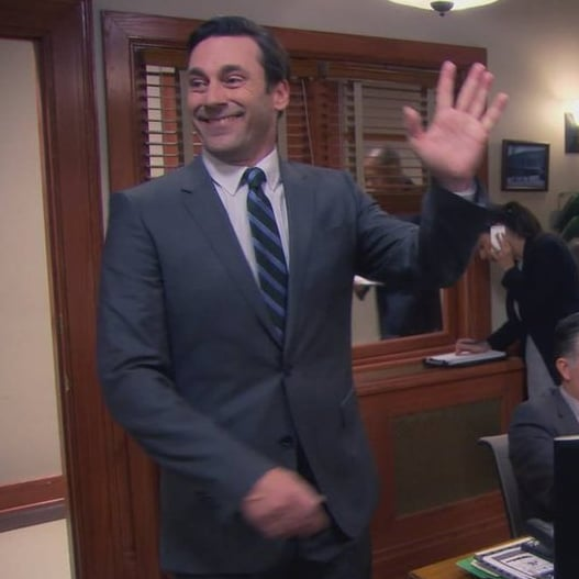 Jon Hamm on Parks and Recreation Video