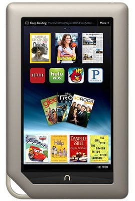 Nook Tablet Details and Specs