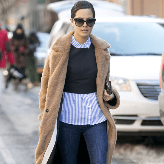 How to Wear a Crop Top in Winter