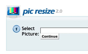 Website of the Day: Pic Resize