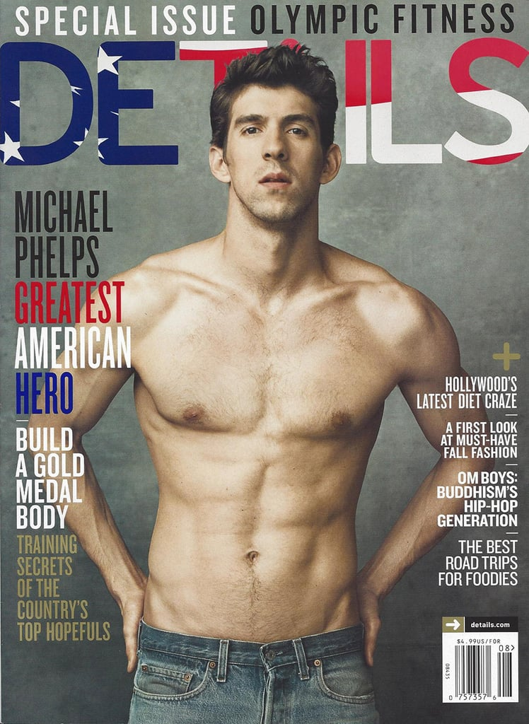 Michael Phelps For Details, August 2012