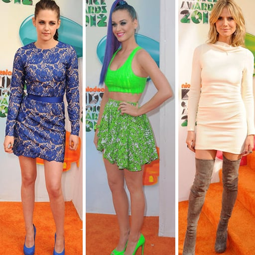 Kids Choice Awards Red Carpet Pictures 2012