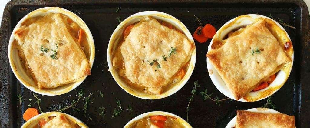 17 Days of Vegetarian Comfort Food