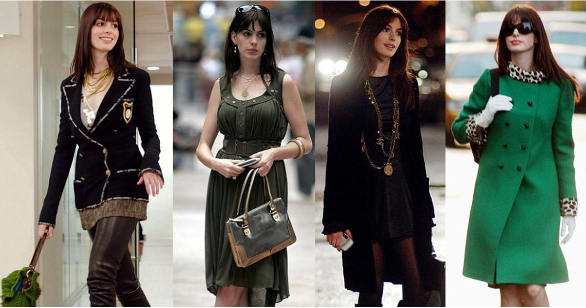 Anne Hathaway Fashion In The Devil Wears Prada Pictures