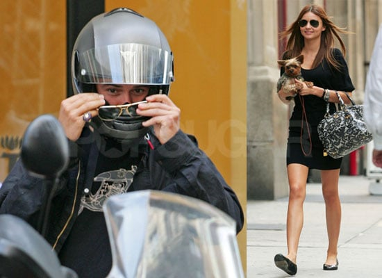 Photos of Orlando Bloom, Miranda Kerr and Her Yorkie in Manhattan