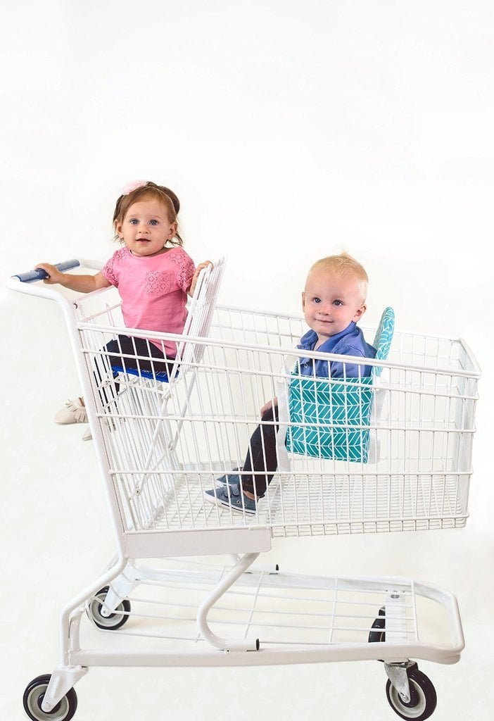 Take both babies shopping with ease.