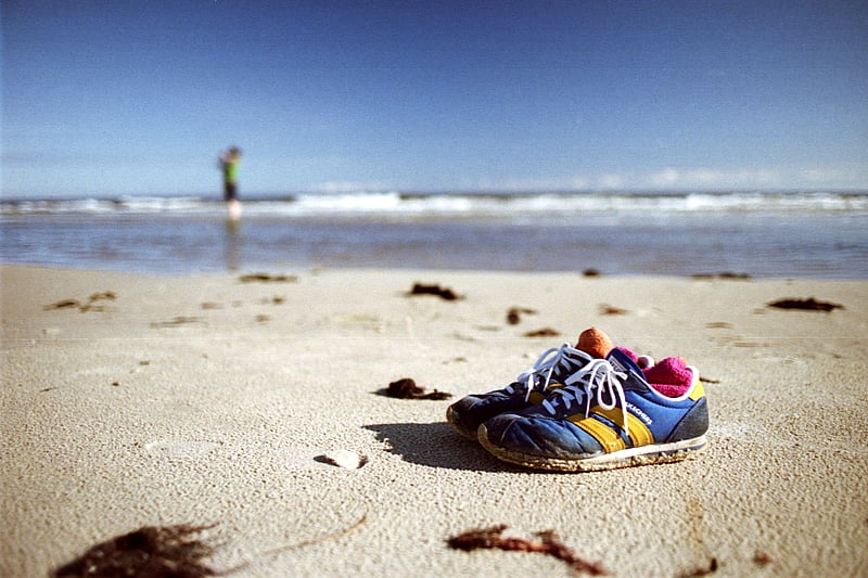 Shoes in the Sand