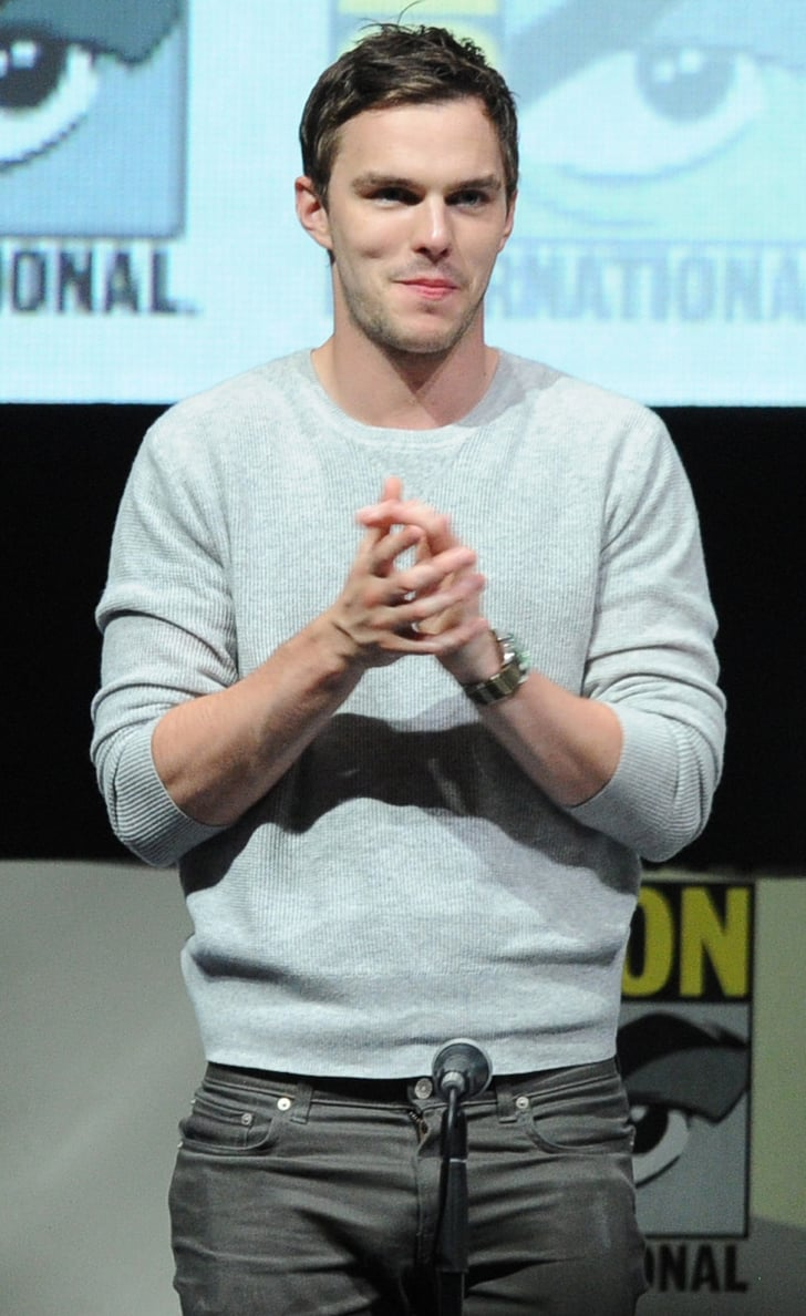 Nicholas Hoult participated in a panel for X-Men: Days of ...