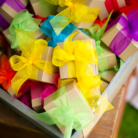 How to Save Money on Wedding Favors