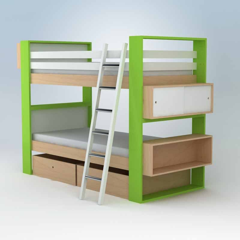 Ducduc Austin Bunk Bed