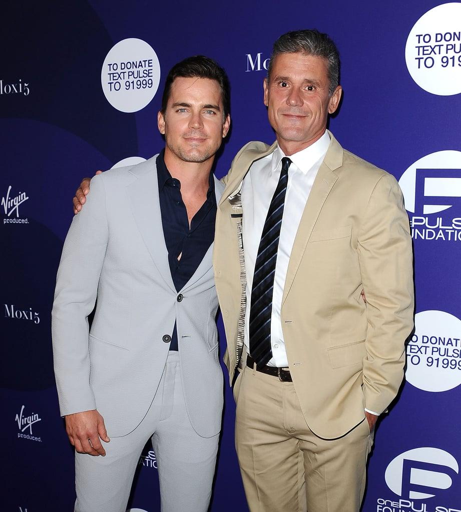 Matt Bomer and Husband...