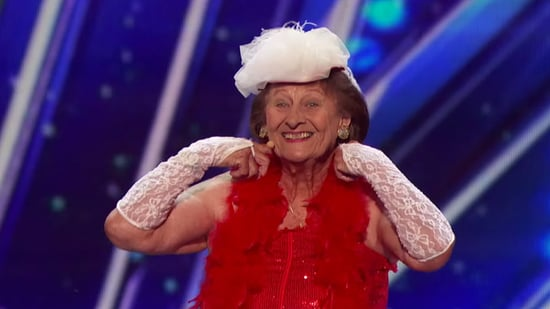 90-Year-Old Burlesque Dancer Gets Coveted Golden Buzzer on 'America's Got Talent' -- See Her Fierce Performance!